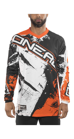 ONeal Element Fietsshirt lange mouwen Heren Shocker oranje/bont